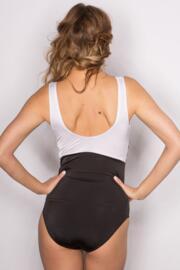 Bahamas Control Swimsuit - Black/White