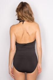 LBS Cross Over Front Suit - Black