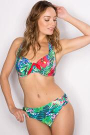 Jungle Fever Halter Underwired Top - Multi