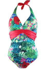Jungle Fever Underwired Swimsuit  - Multi