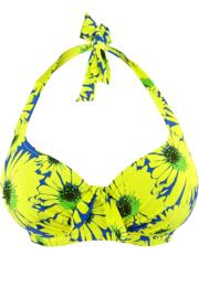 Crazy Daisy Underwired Top - Blue/Yellow
