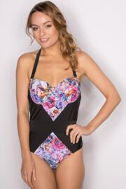 Sicily Padded Underwired Suit - Pinks Multi