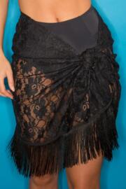 All About The Lace Sarong - Black