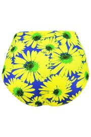 Crazy Daisy Control Brief - Blue/Yellow