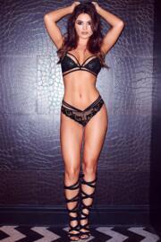 Strapped Soft Bralette - Black