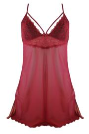 Obsession Chemise - Ruby Red