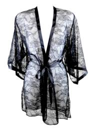 All Tied Up Kimono - Black