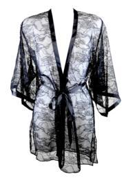 All Tied Up Kimono - Black