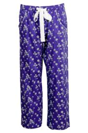 Dandelion Shower Woven Pyjama Pant - Blue