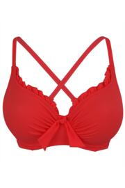 Getaway Underwired Top - Red