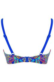 Amalfi Padded Sweetheart Underwired Top - Blue