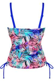 Aruba Tankini Top - Blue Multi