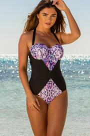Mykonos Padded Underwired Swimsuit - Multi
